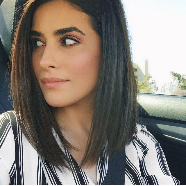 14 Corte de cabello para mujer corto hasta los hombros