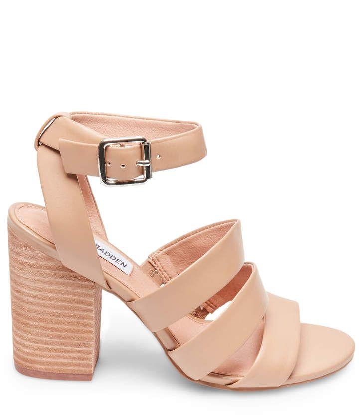dda78da4f27 Vision natural leather | Shoes | Steve madden, Natural leather, Sandals