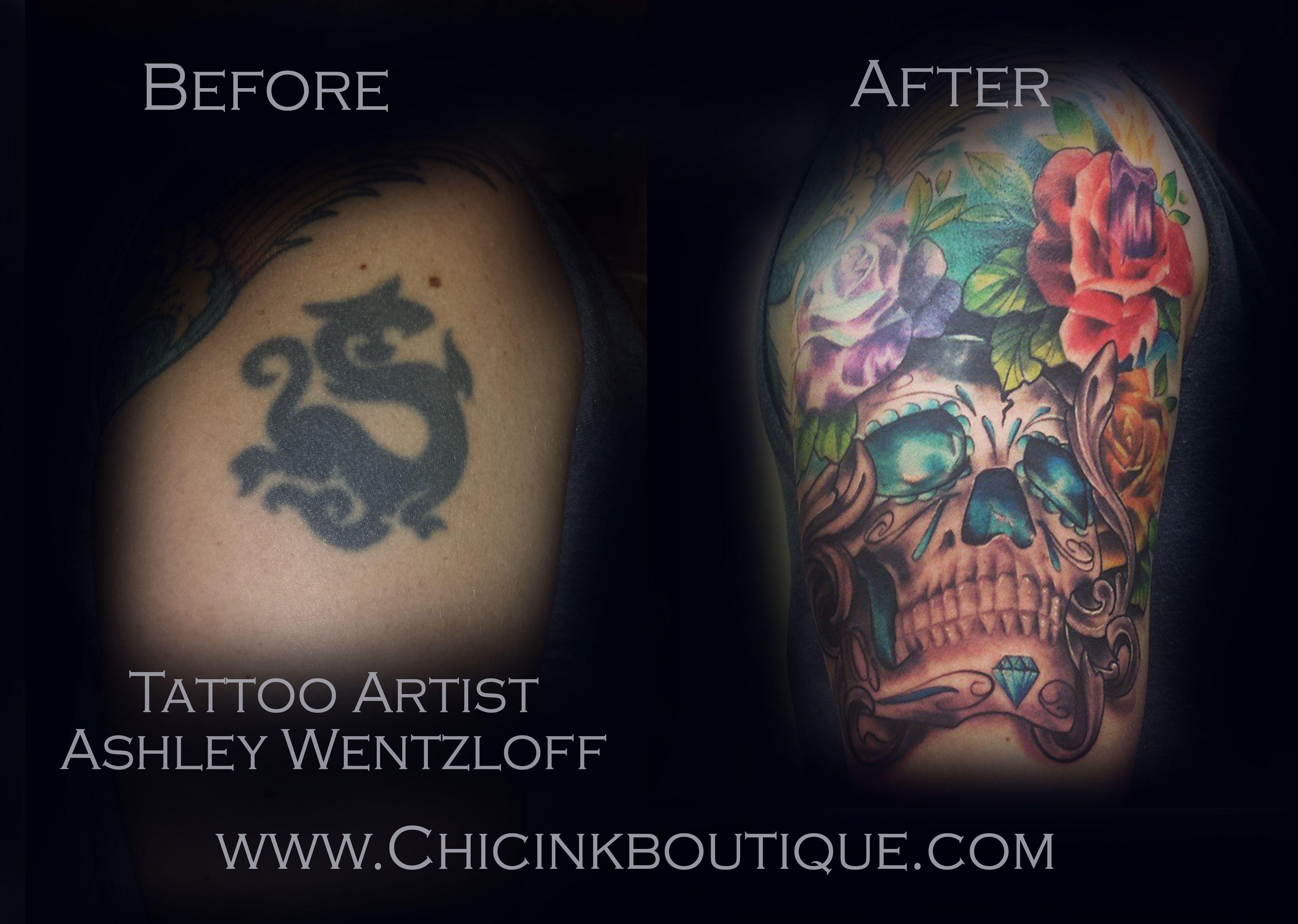 Great cover up tattoo ideas impressive cover up tattoo  chic inkus tattoo artist ashley