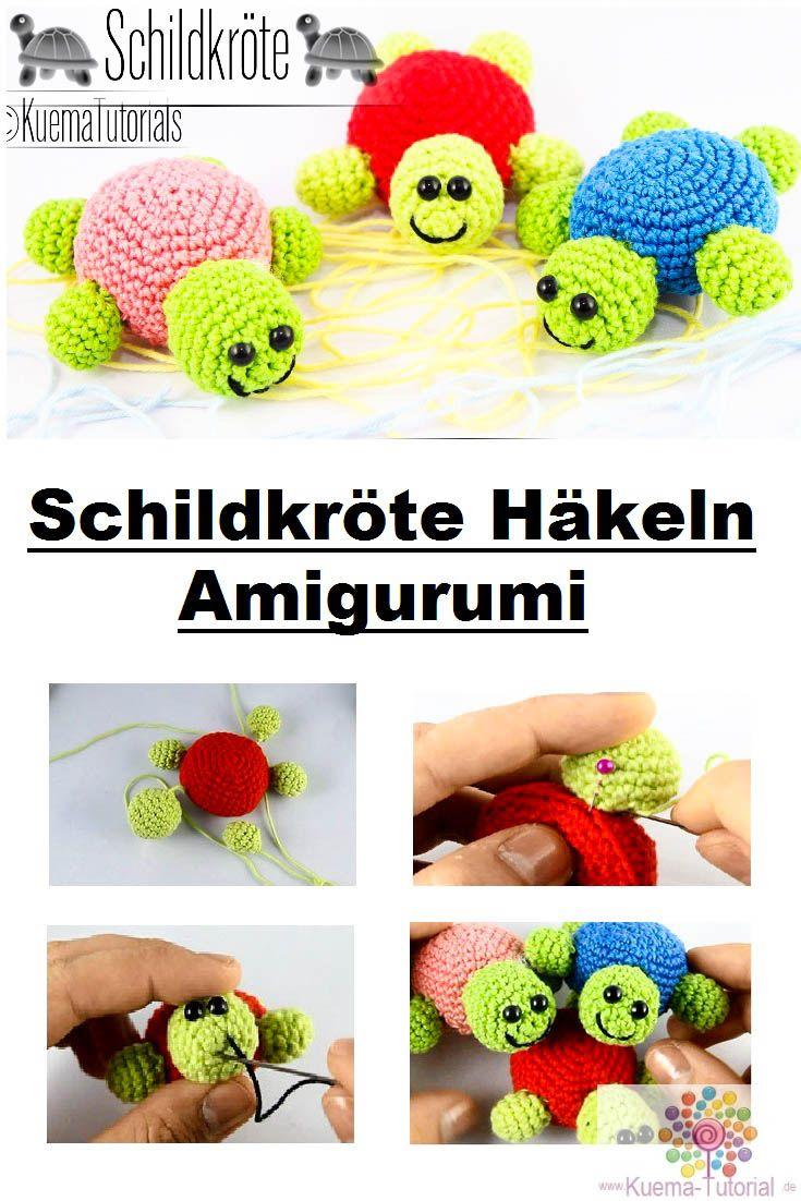 Amigurumi Schildkröte haekeln