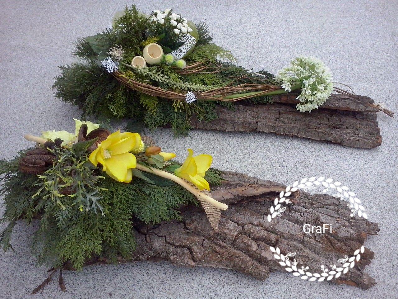 Florystyka funeralna, dekoracja na grób, 1 listopada, kompozycja nagrobna, stroik na grób #friedhofsdekorationenallerheiligen