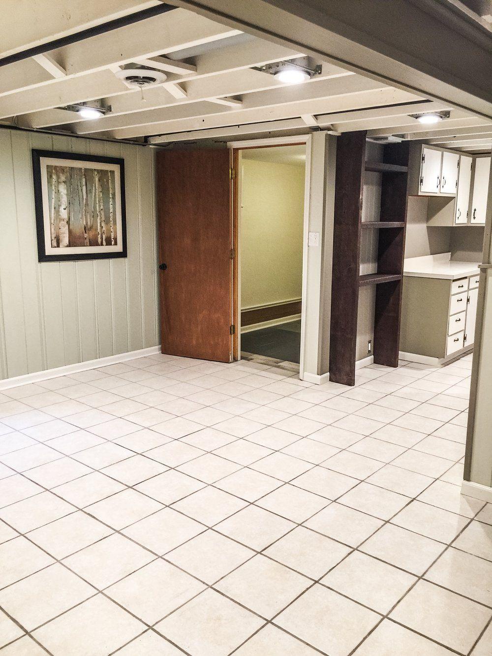 Jan 7 $1000 DIY Basement Renovation
