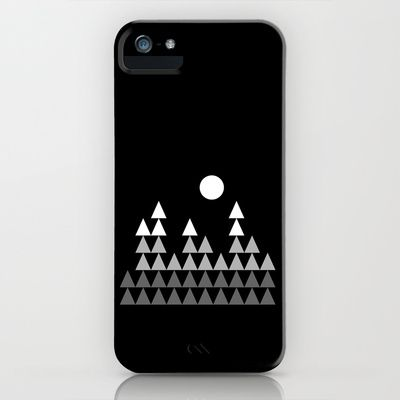 BlackTriangle03 iPhone Case by Held+Lykke