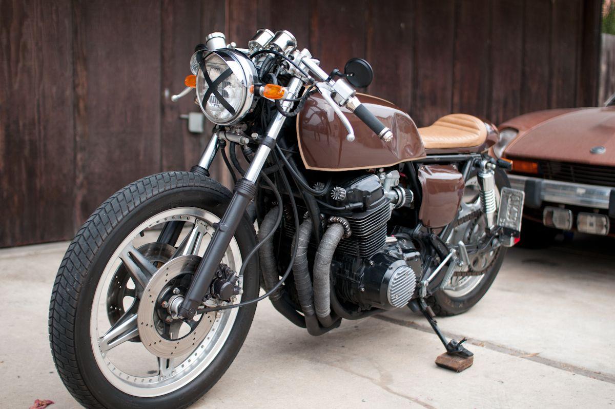 1978 Honda Cb750f Cafe Racer 1975 Grey Metallic Motorcycle Cb750