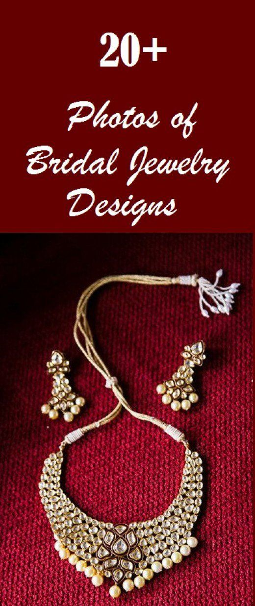 20+ Photos of Bridal Jewelry Designs | Bridal jewelry, Wedding and ...