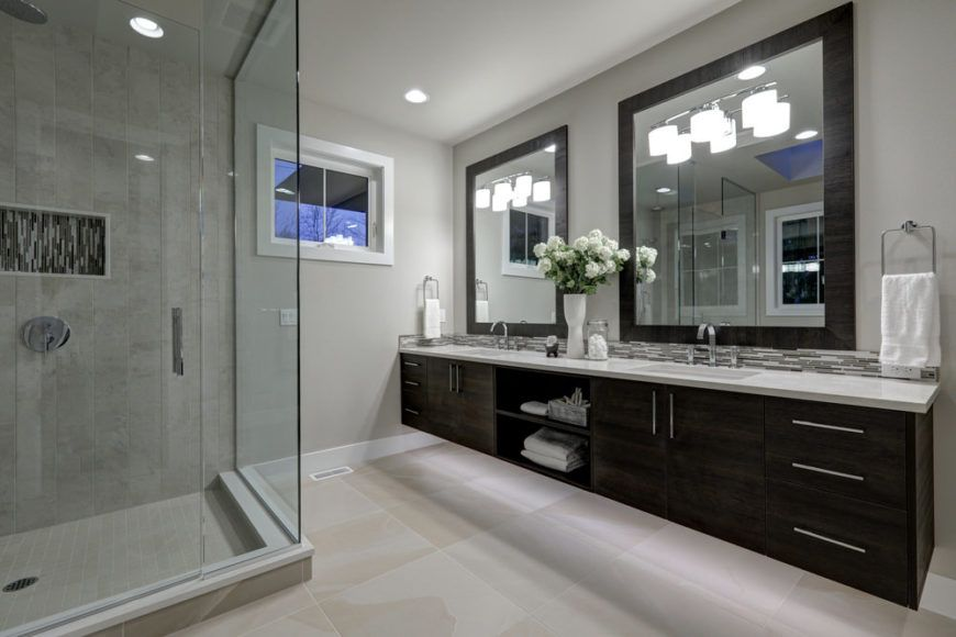 Average Cost High End Bathroom Remodel In 2020 Bathroom Remodel Cost Master Bathroom Shower Shower Remodel