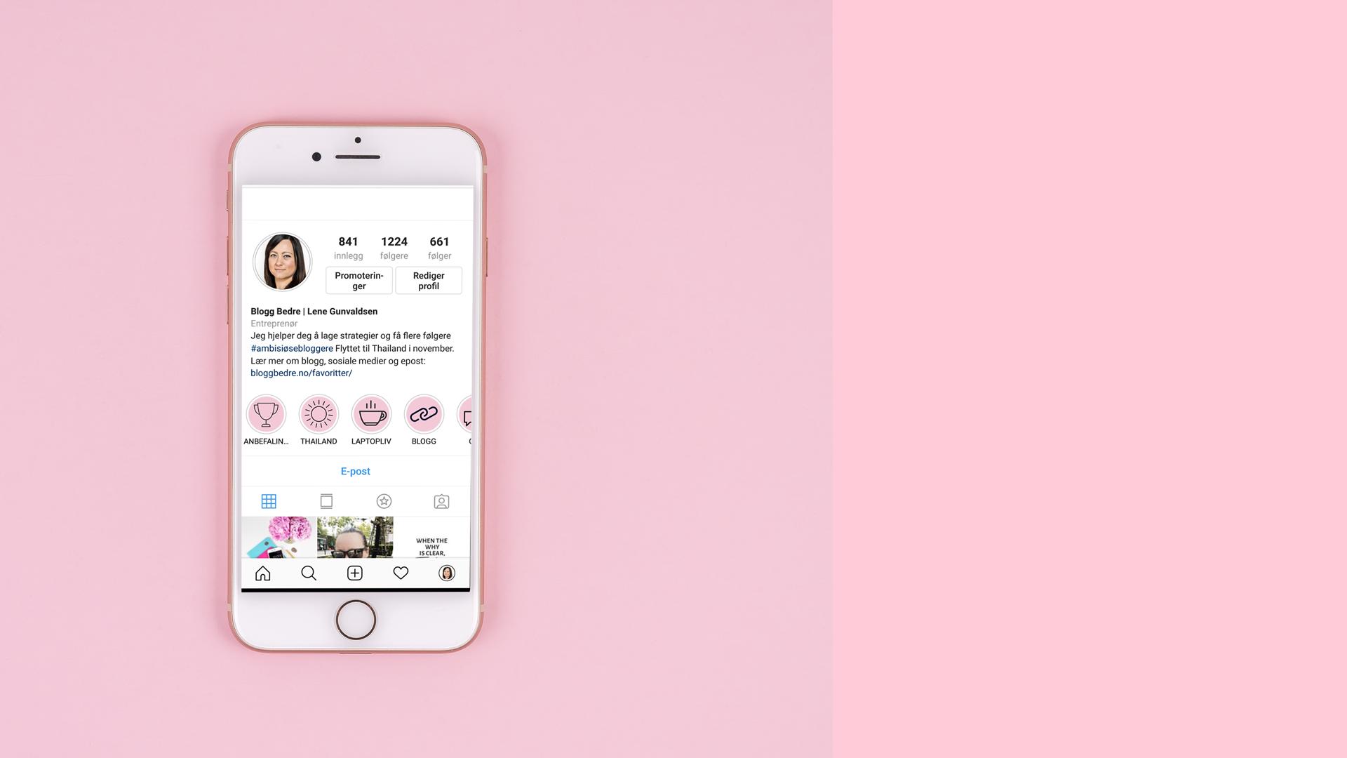 52db8110 Lag høydepunkter til Instagram stories. Gratis guide! | BloggBedre ...