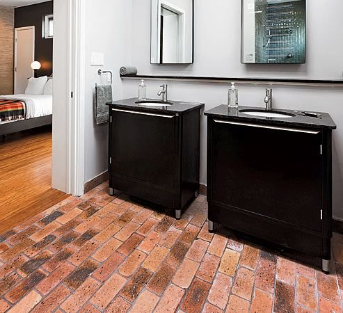 Master Bath In Msi's Smart Home Green  Wiredyou Can Kind Of Pleasing Flooring For Bathrooms Design Ideas