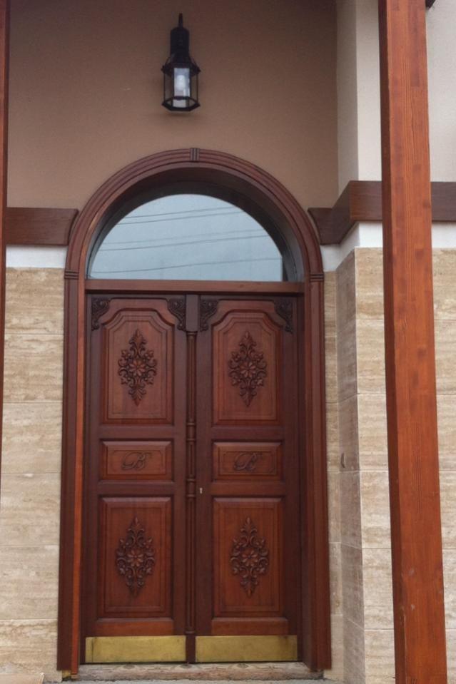 Ahşap oyma kapılar - agaclar.net