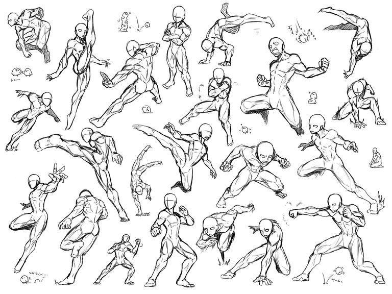 I M Sure Many Of You Have Experienced Drawing Action Scenes Awesome Tutorials How To Draw Fight Scenes In 2020 Art Reference Poses Sketch Poses Action Pose Reference