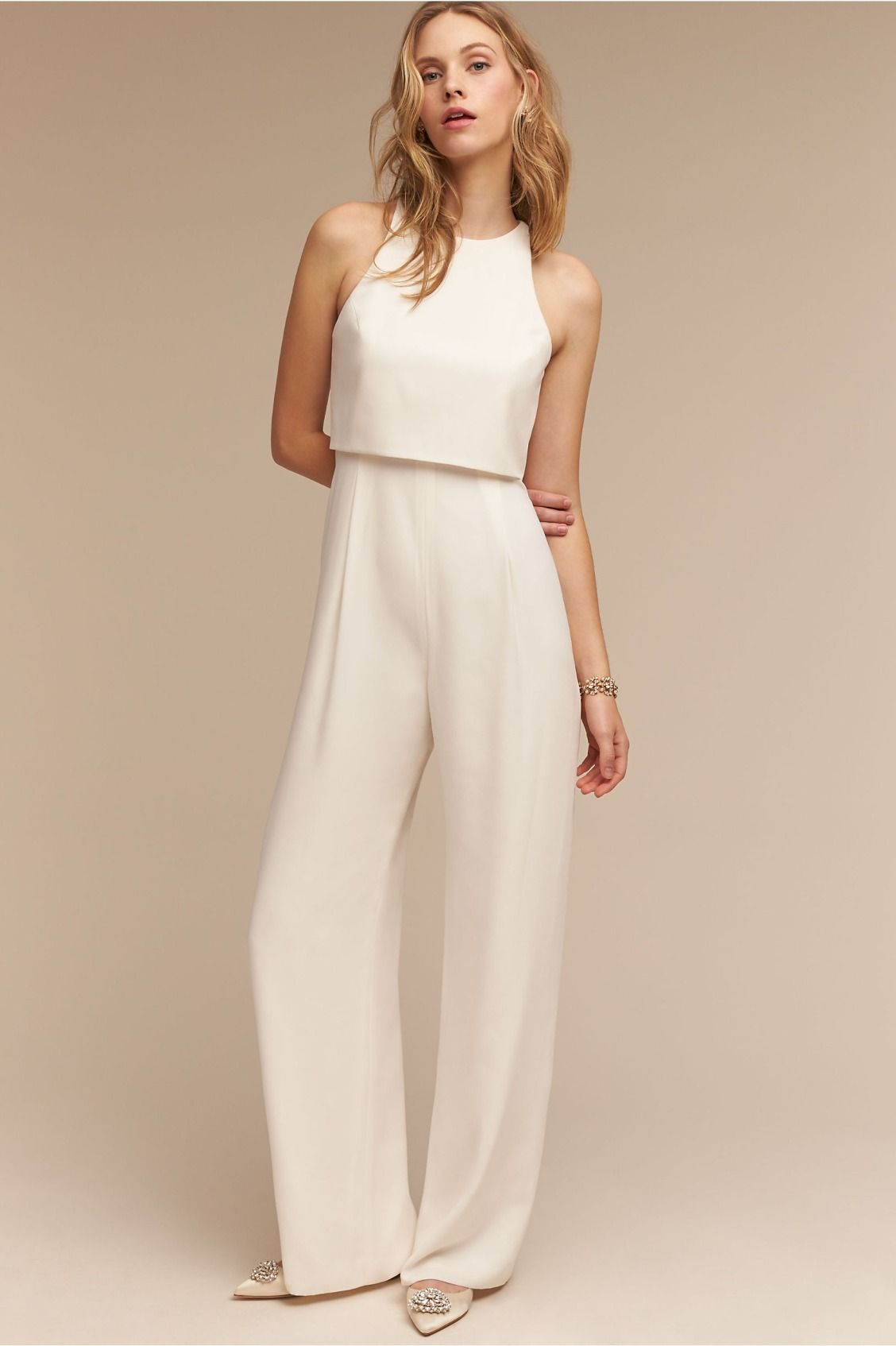 Gabby jumpusit receptions jumpsuits and products for How to dress for a wedding reception