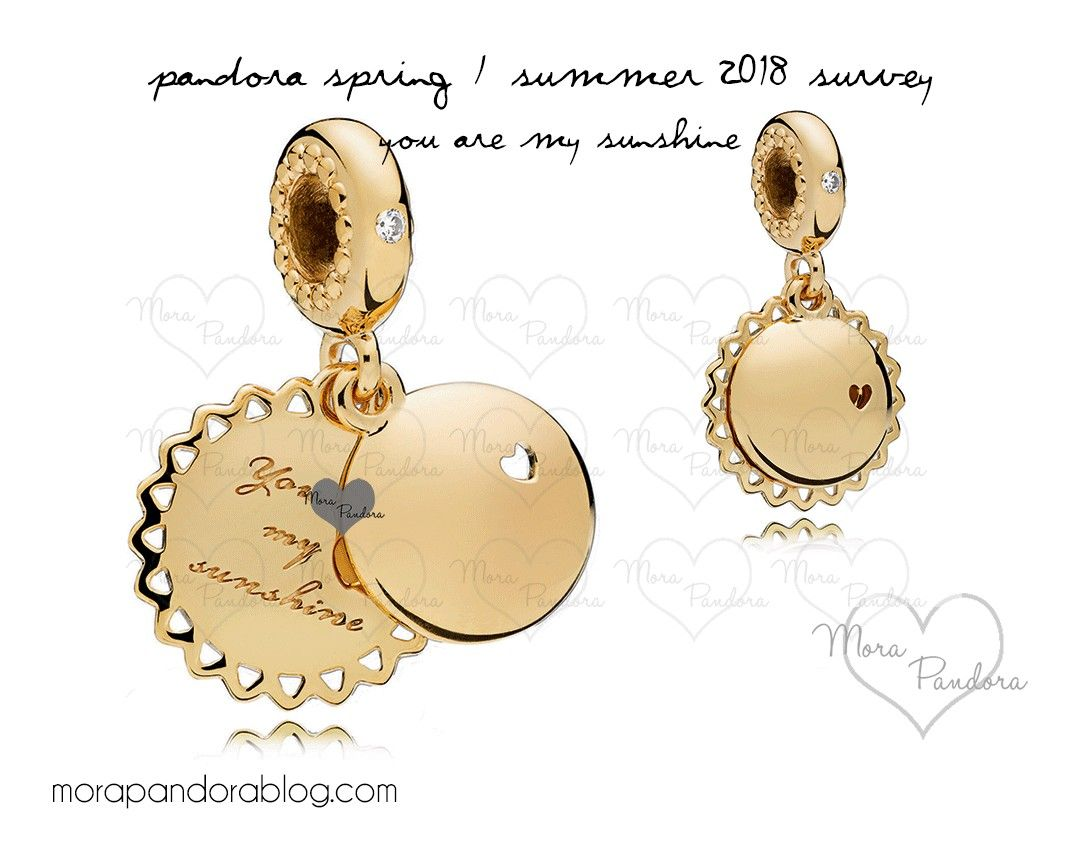 4a73c0209 Pandora Spring/Summer 2018 Dangle - You Are My Sunshine   Pandora ...