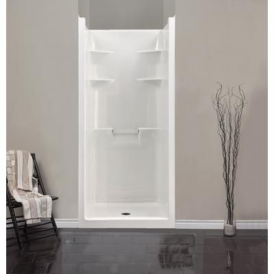 Bathroom Stalls Home Depot shower stalls one piece |  - melrose 3 acrylic 1-piece shower