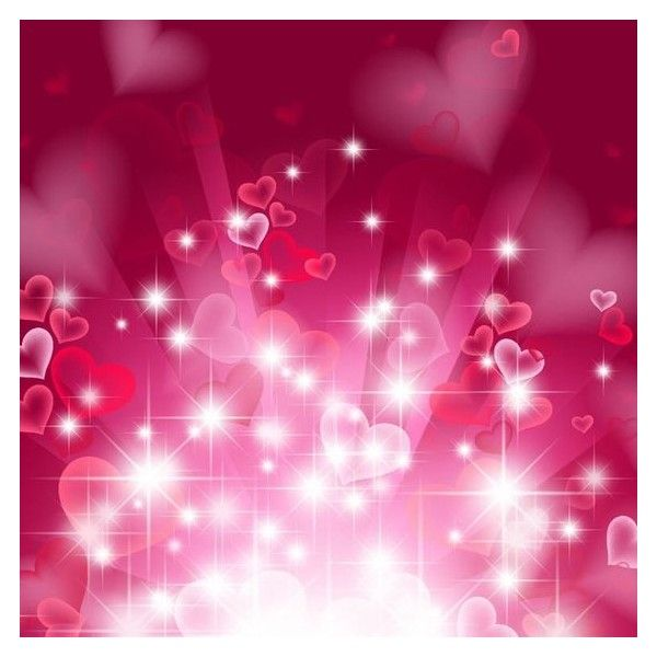 Abstract Heart Background In Pink Liked On Polyvore