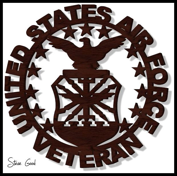 Image Result For Military Scroll Saw Patterns Air Force
