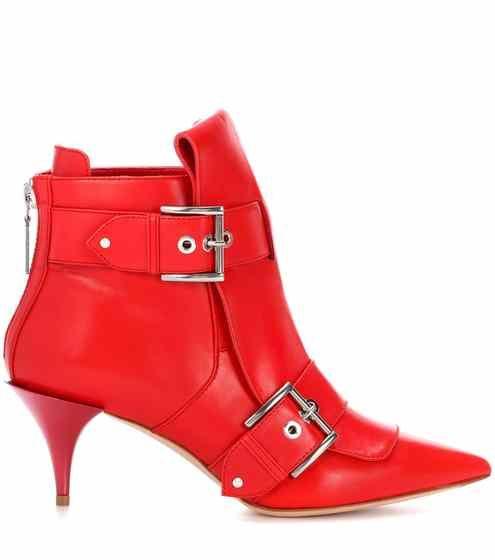 b60cbc21786d Leather ankle boots | Alexander McQueen | Cipő, szandál, bakancs, csizma
