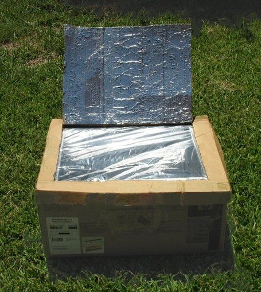How to make a solar oven science fair project stuff to for How to build a solar oven for kids