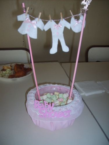 Decoraciones Para Centro De Mesas Para Baby Shower