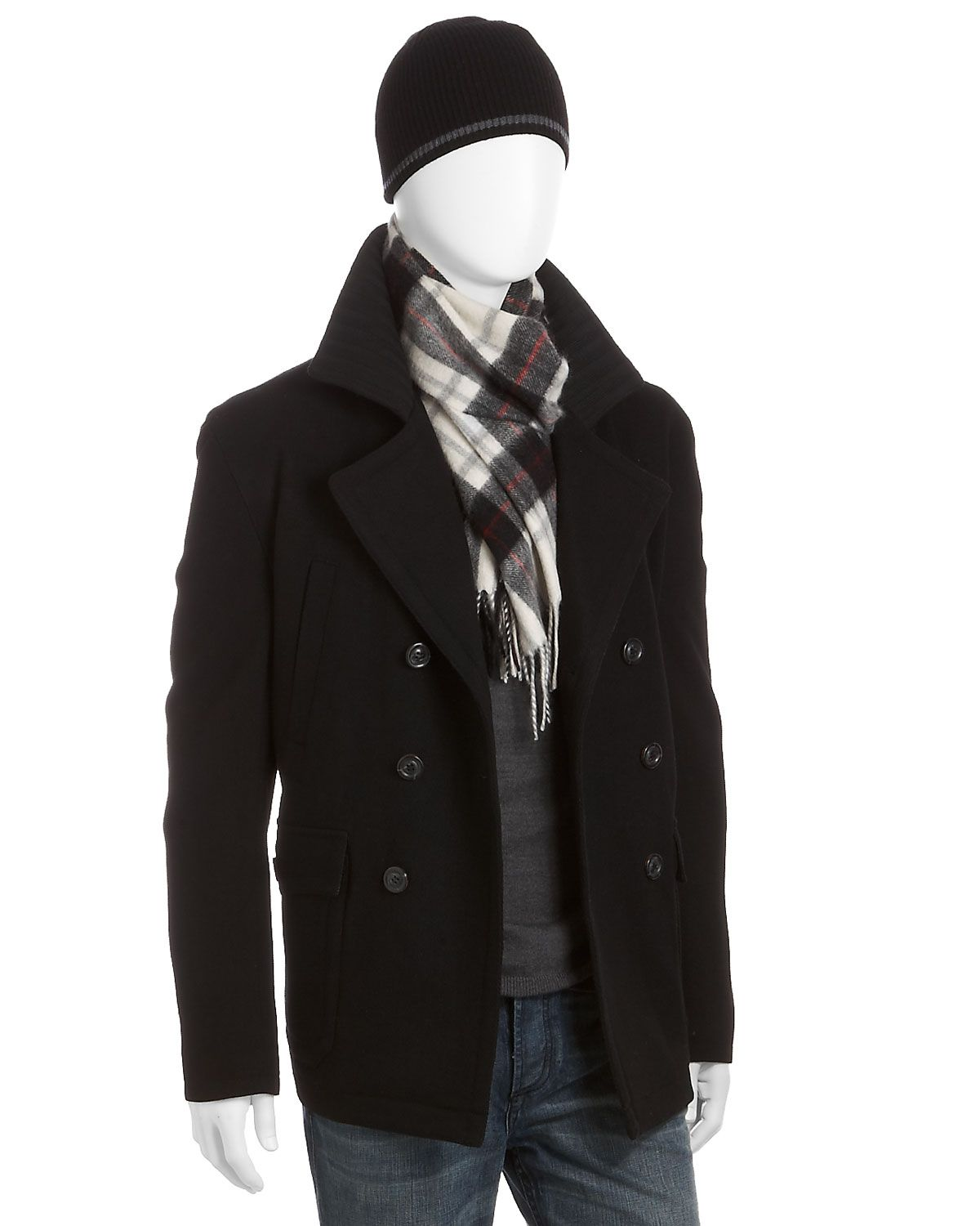 got it all except the scarf, and the hat looks 'tarded. no thanks. ill take everything neck down.