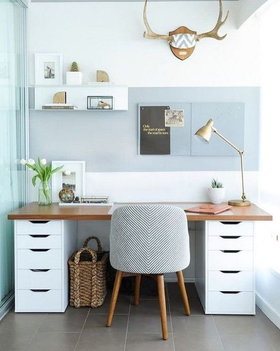 156 Nifty Home Office Design Tips and Ideas - Cozyhome 101