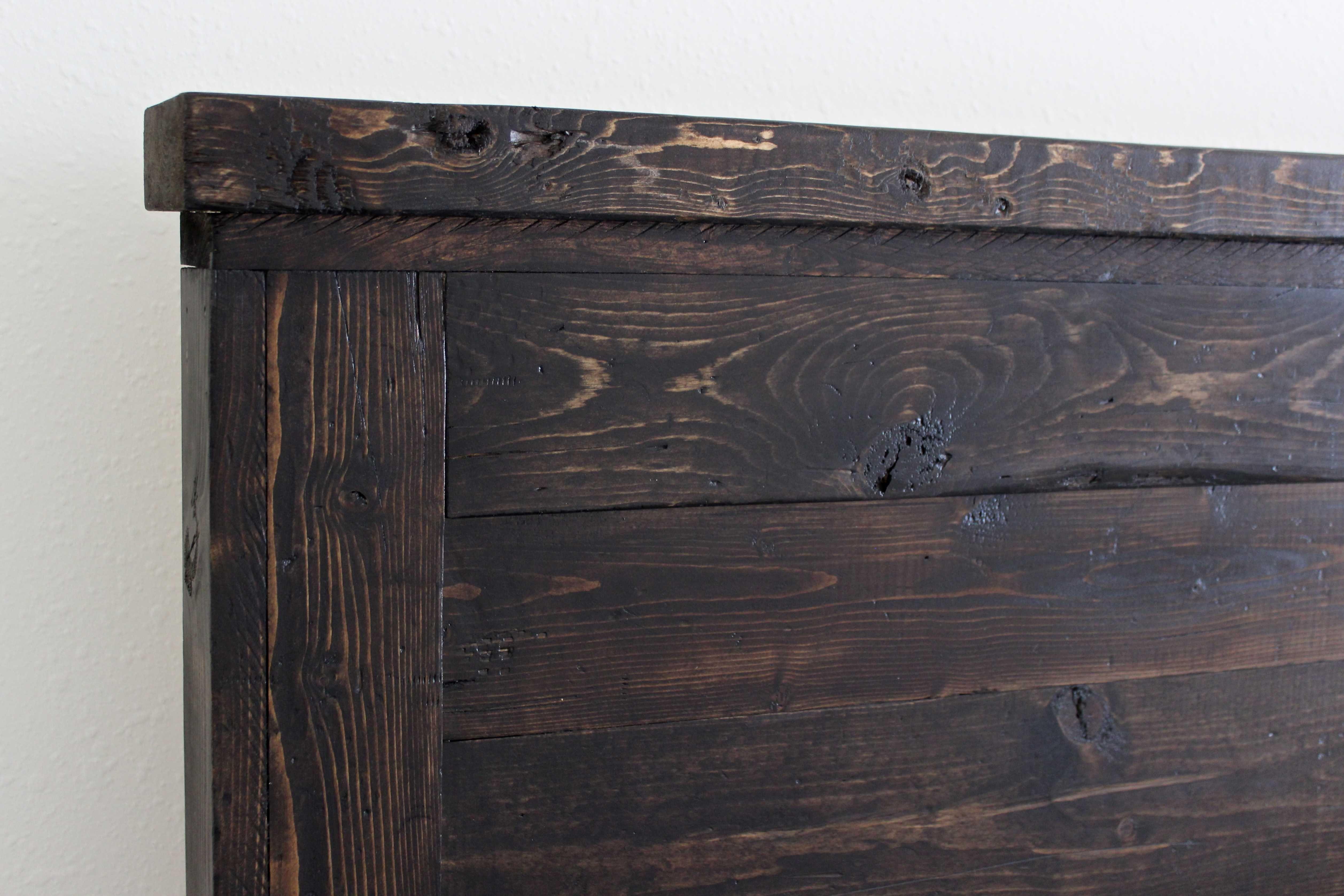 King Size Bed Reclaimed Wood Headboard  Best Of King