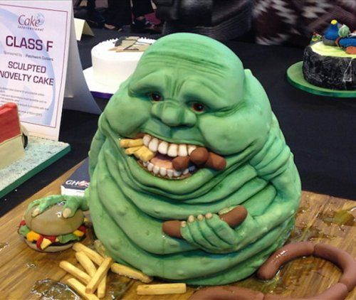 Unusual cakes inspired by movies and cartoons (26 photos)