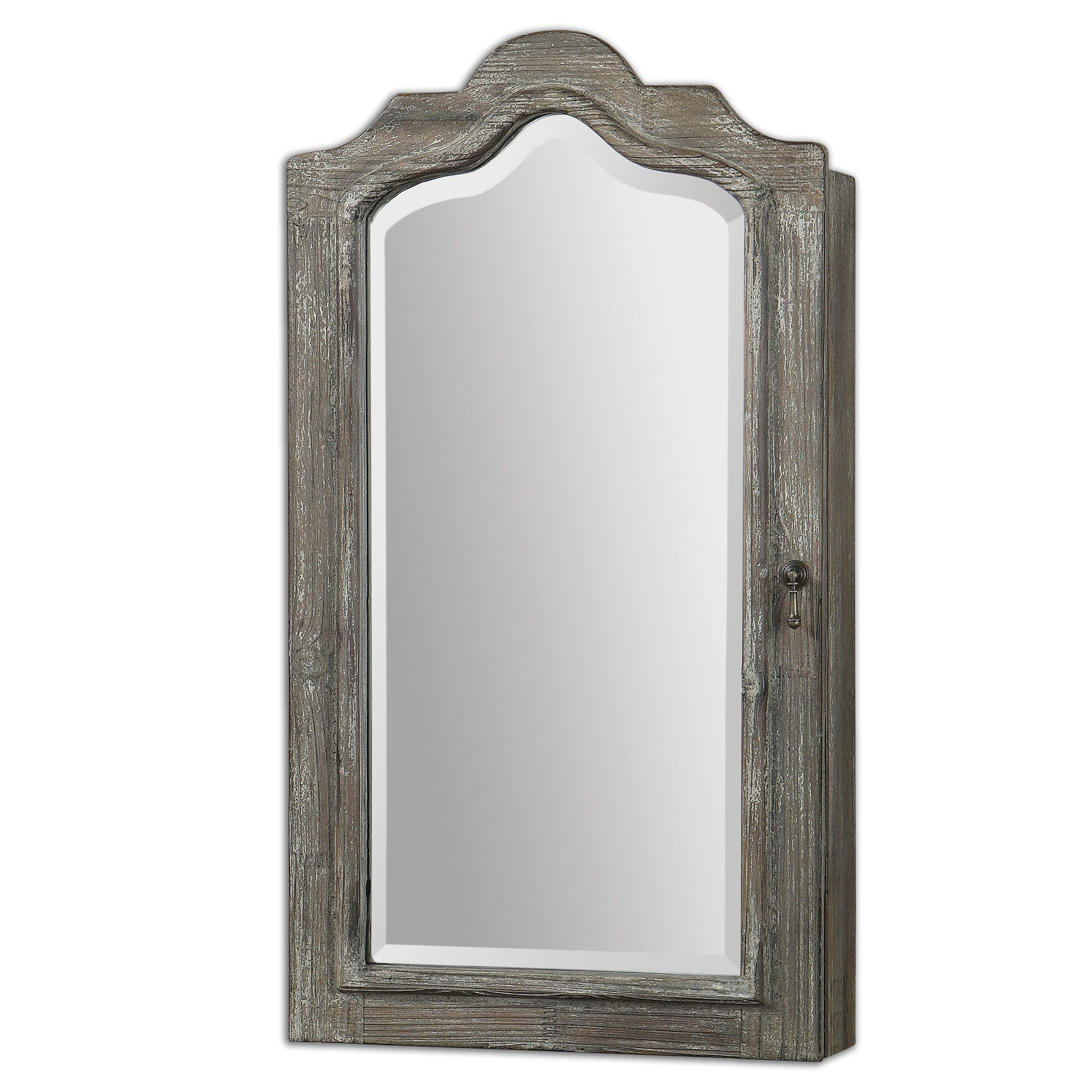 Anadia Mirrored Cabinet
