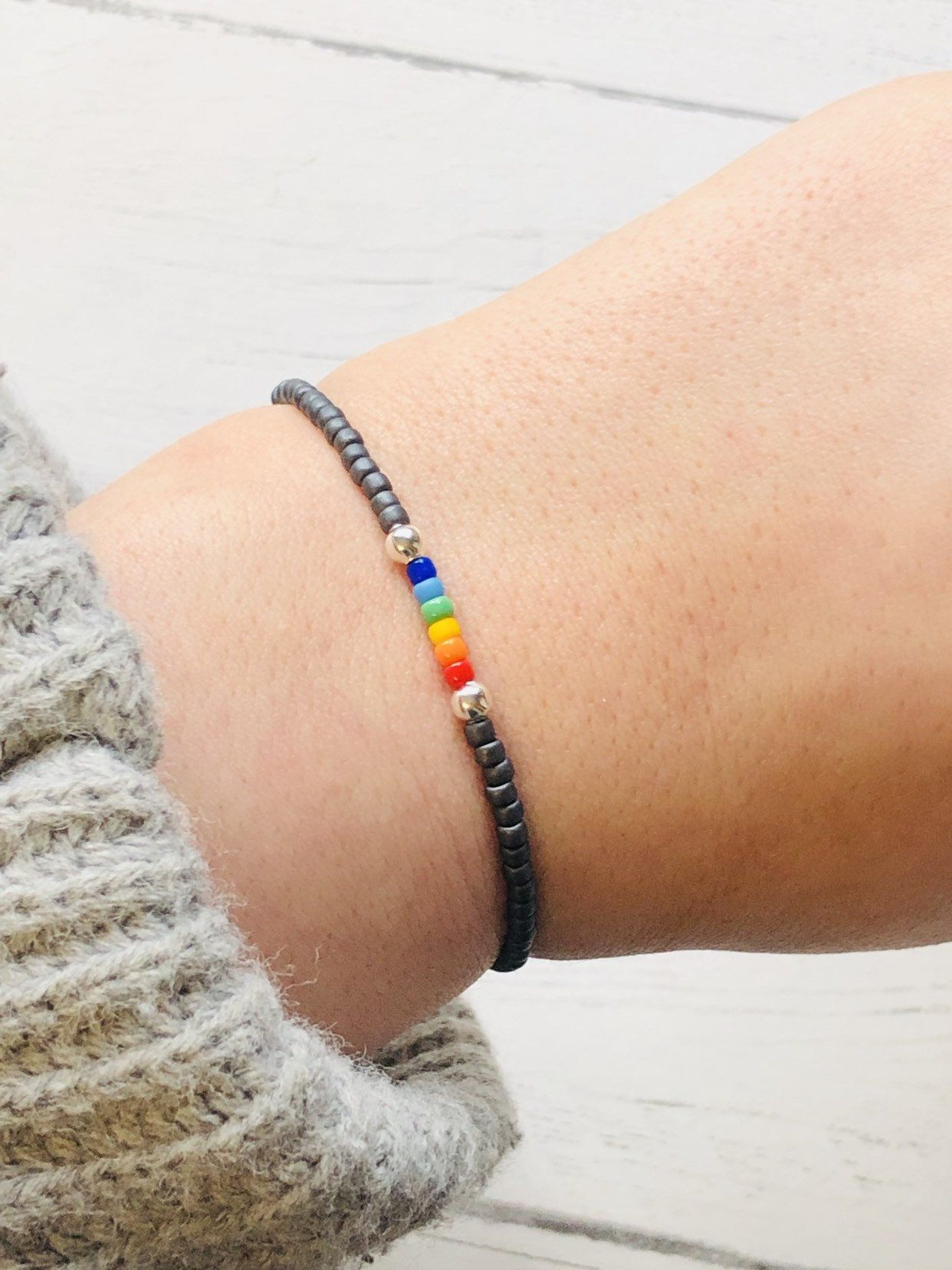 90a60285f12d2 Gay pride bracelet,LGBT bracelet,couples bracelet,pride bracelet,gay ...