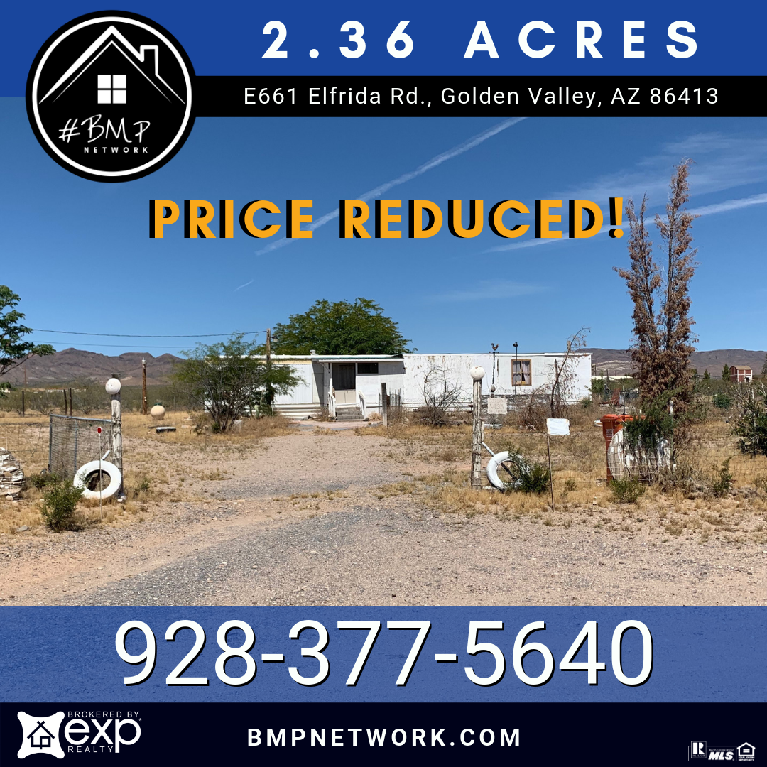 Apartments In Kingman Az: PRICE REDUCED! 🔹🔹 GOLDEN VALLEY Great Spot To Build Your