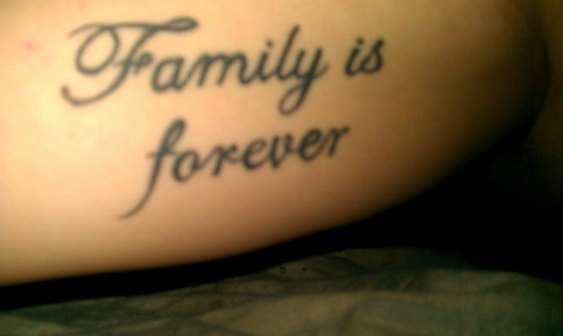 Tattoo Quotes About Family. QuotesGram | PEACE LOVE | Pinterest ...