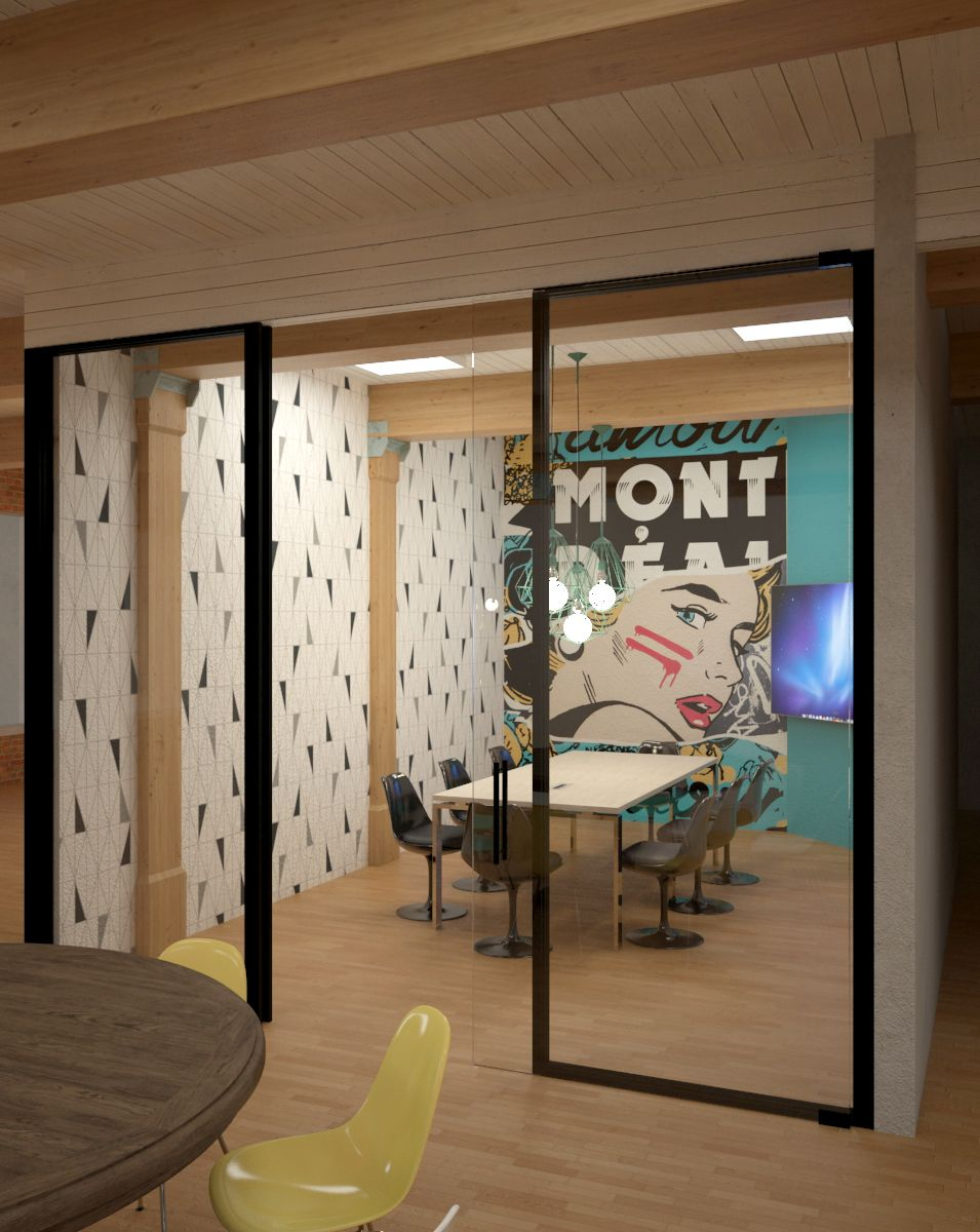 New space in montreal shared workspace coworking for Shared office space montreal