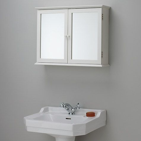 John Lewis Partners St Ives Double Mirrored Bathroom