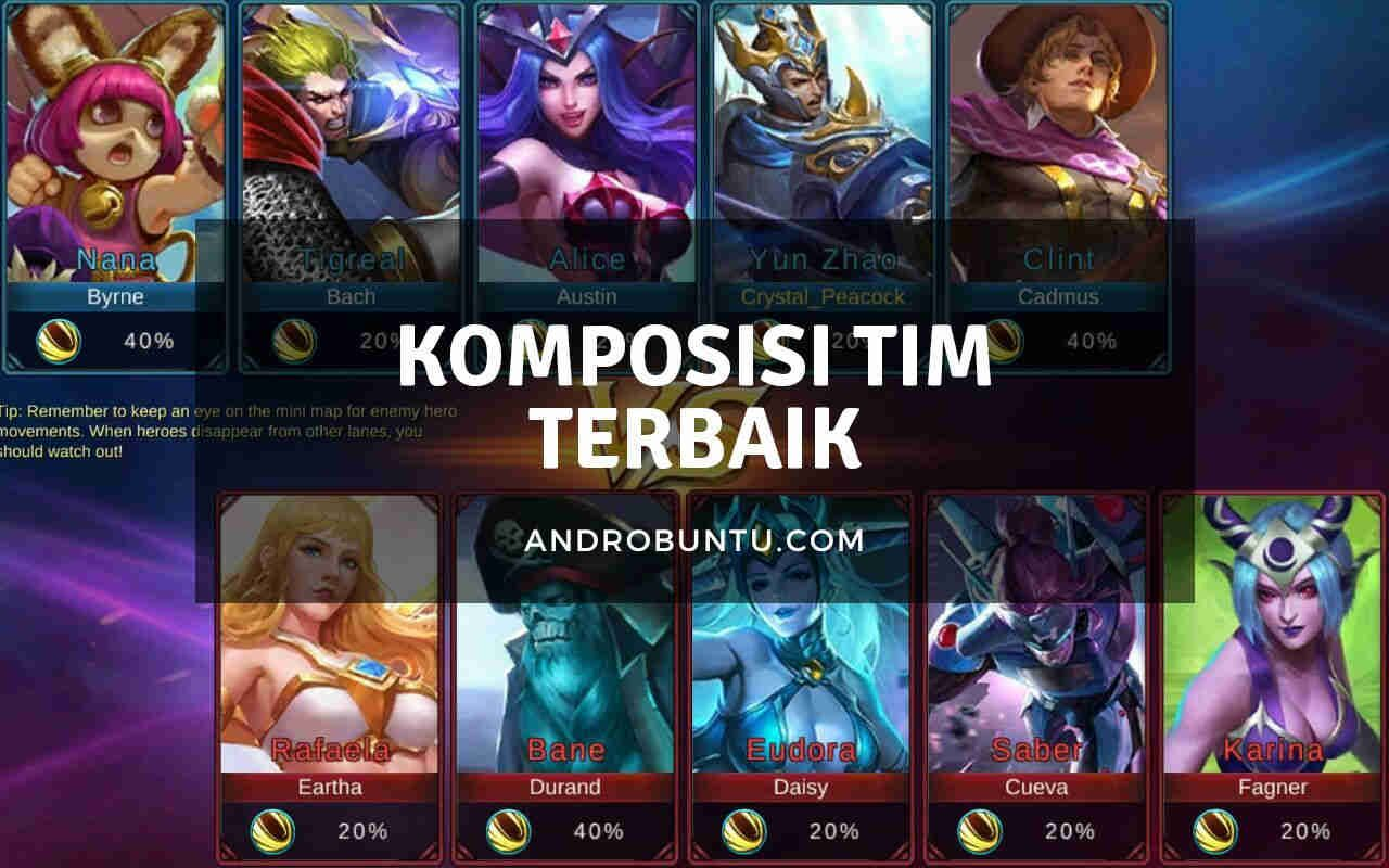 Komposisi Tim Terbaik Di Mobile Legends