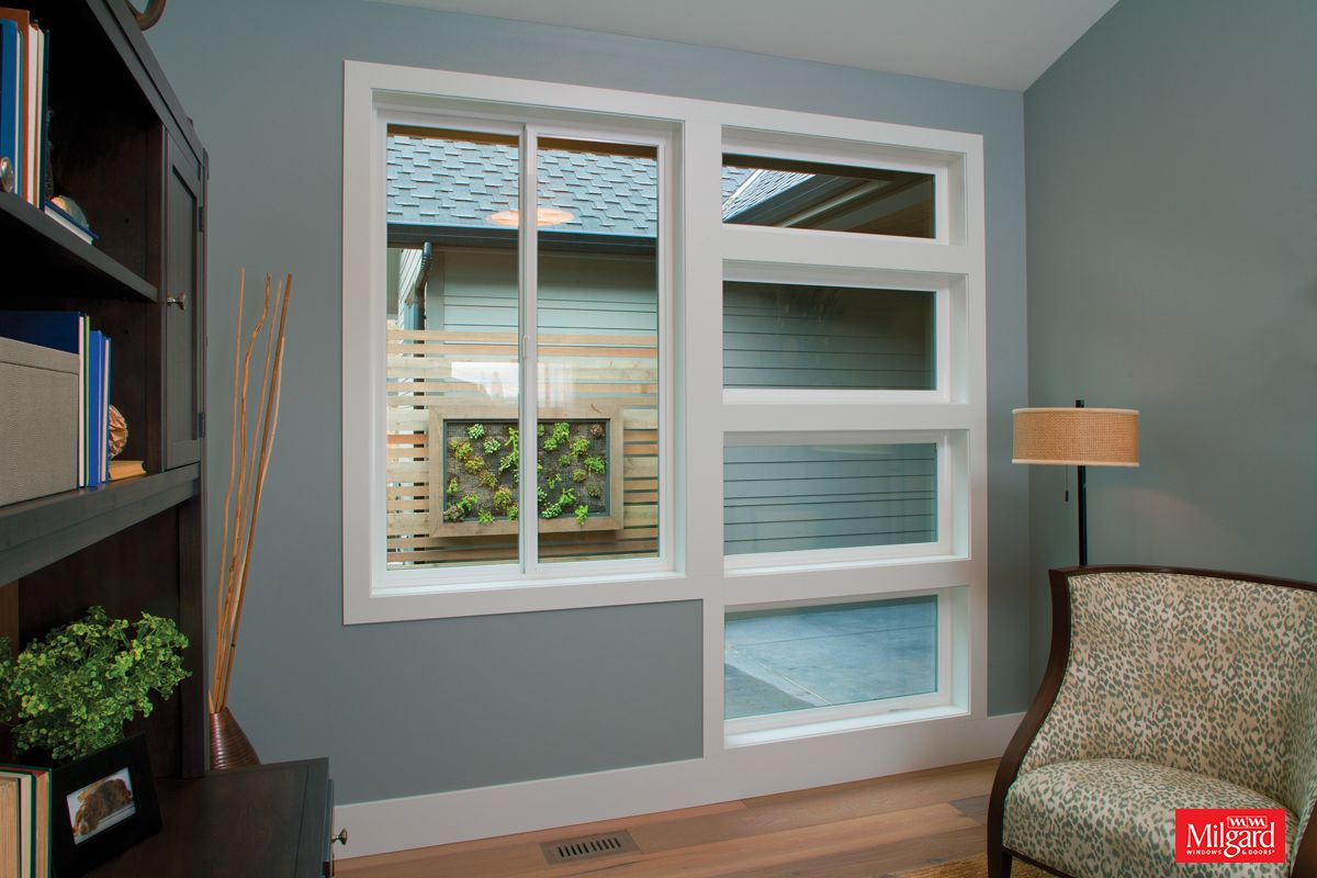 Sliding windows for homes - Study Library A Combination Of Horizontal Sliding Windows And Stacked Picture Windows The