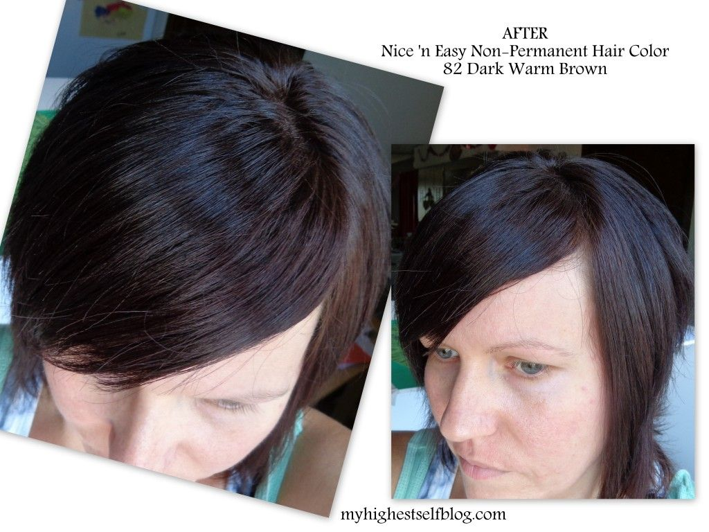 See Before After Photos With Nice N Easy Non Permanent Hair Color
