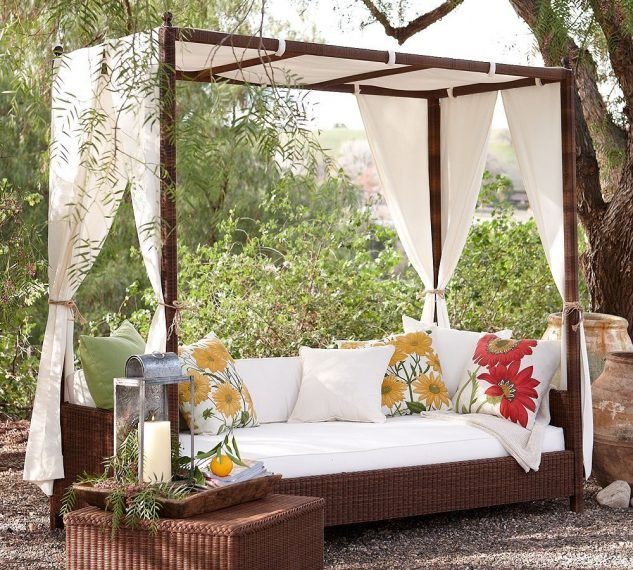 DIY Canopy Seating Areas For Backyard Shade   Top Inspirations