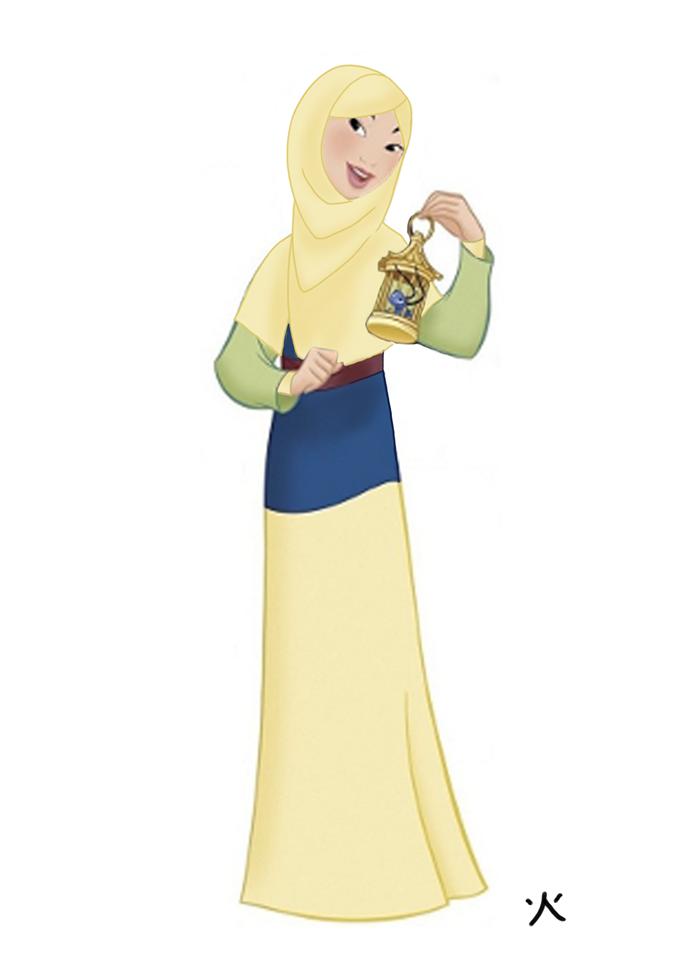 428 Disney Princesses Muslim Version Islamic Disney Disney