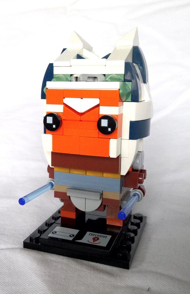 Ahsoka Tano Instructions Available Ahsoka Tano Legos And Lego Stuff