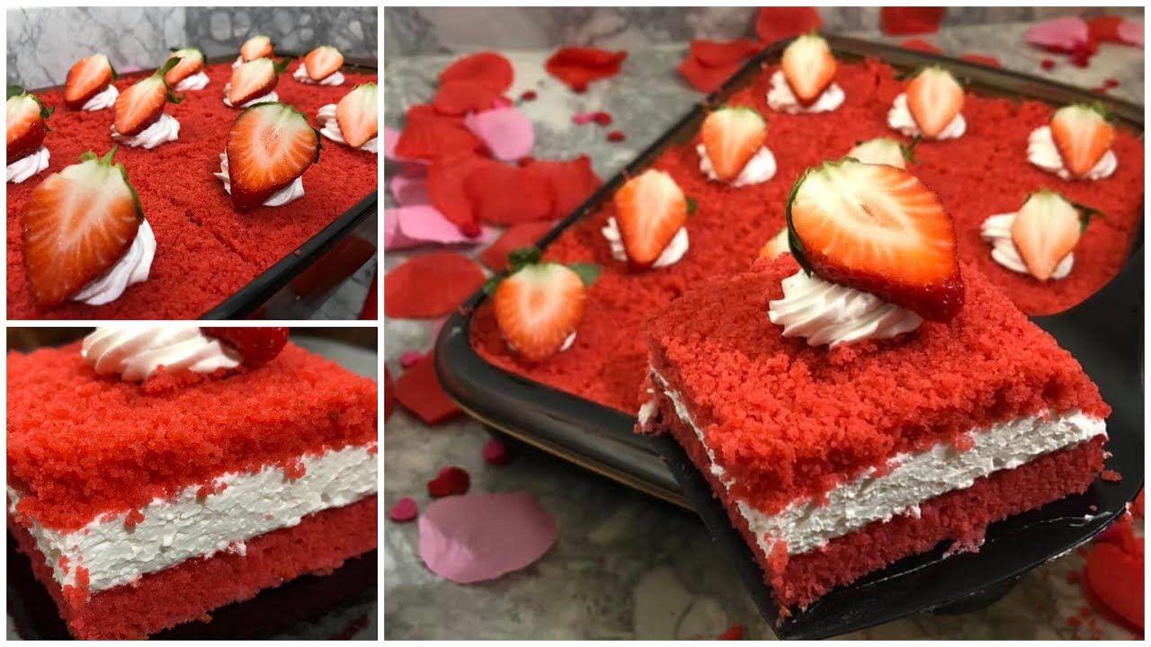 Red Velvet Cake رد فلفت كيك هش وخفيف وطعم ولا أروع يستحق التجربة Youtube Food Desserts Cake
