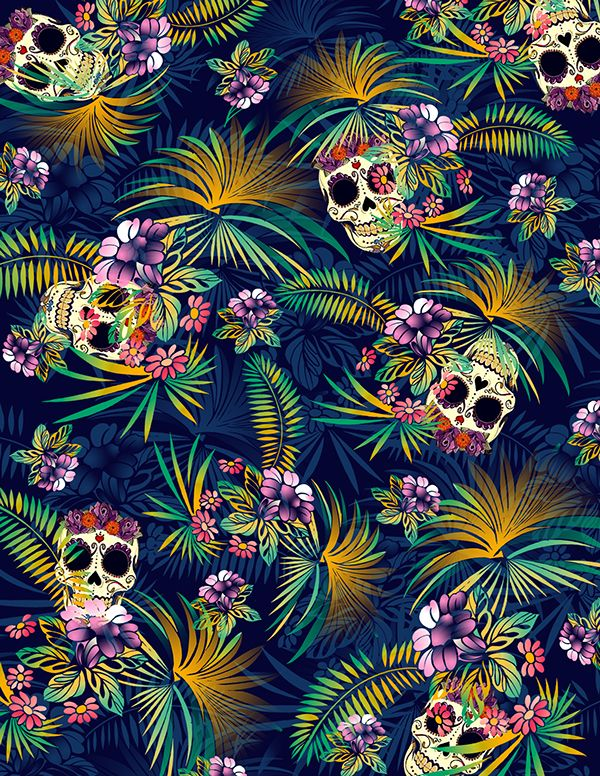 Obsessed With Skulls Art By Paulo Balcita In 2019 Skull