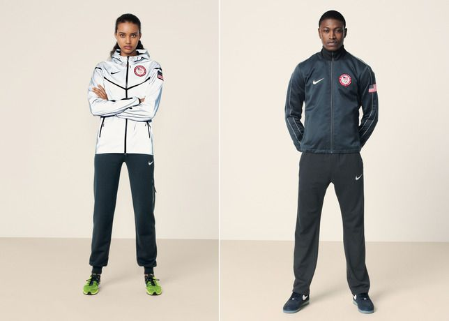 NIKE, Inc. - NIKE reveals USA Medal Stand footwear and apparel