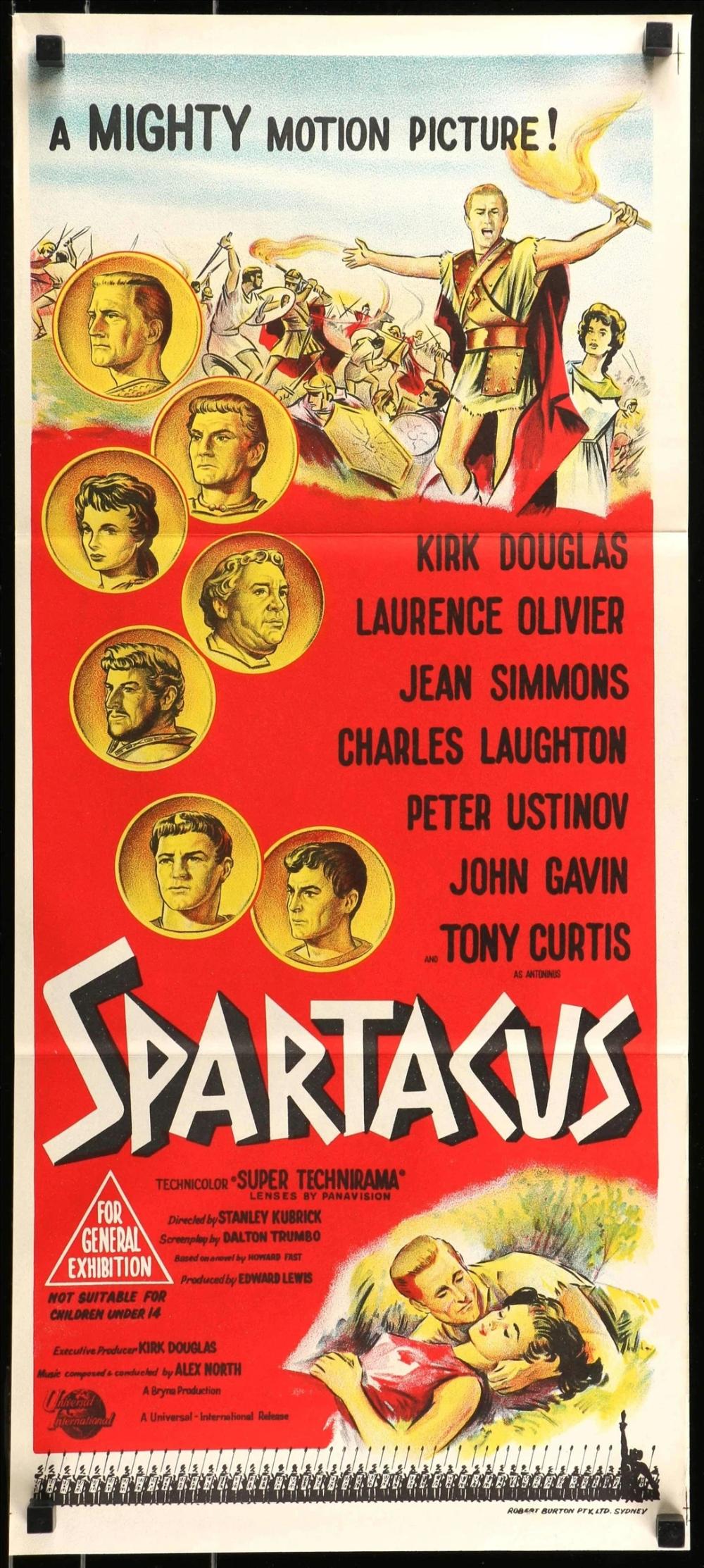 Spartacus 1960 Spartacus 1960 Spartacus Kirk Douglas