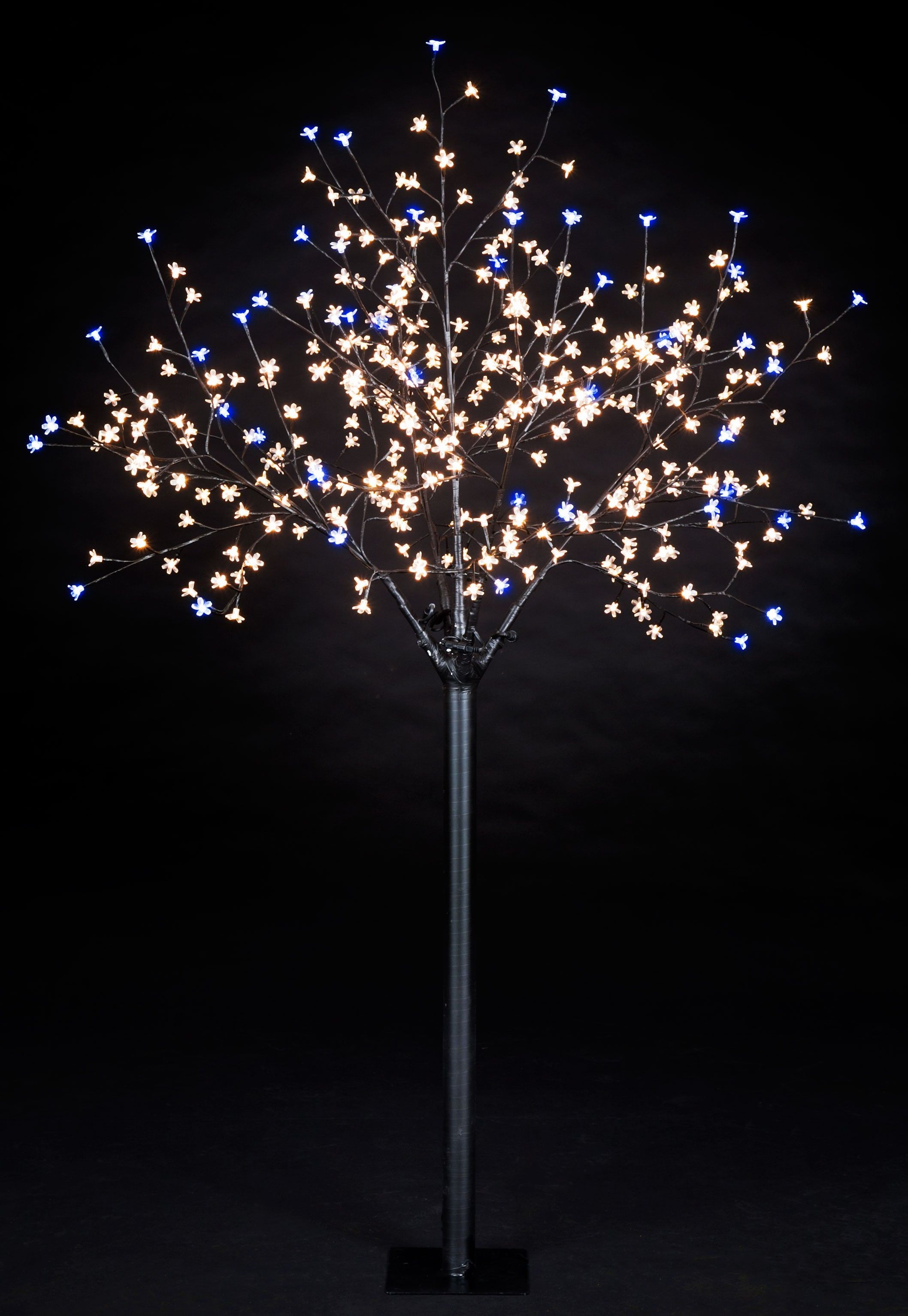 5ft Cherry Blossom Tree With 180 Warm White 20 Twinkling Ice White Leds Cherry Blosso Blossom Trees Cherry Blossom Tree Artificial Christmas Tree