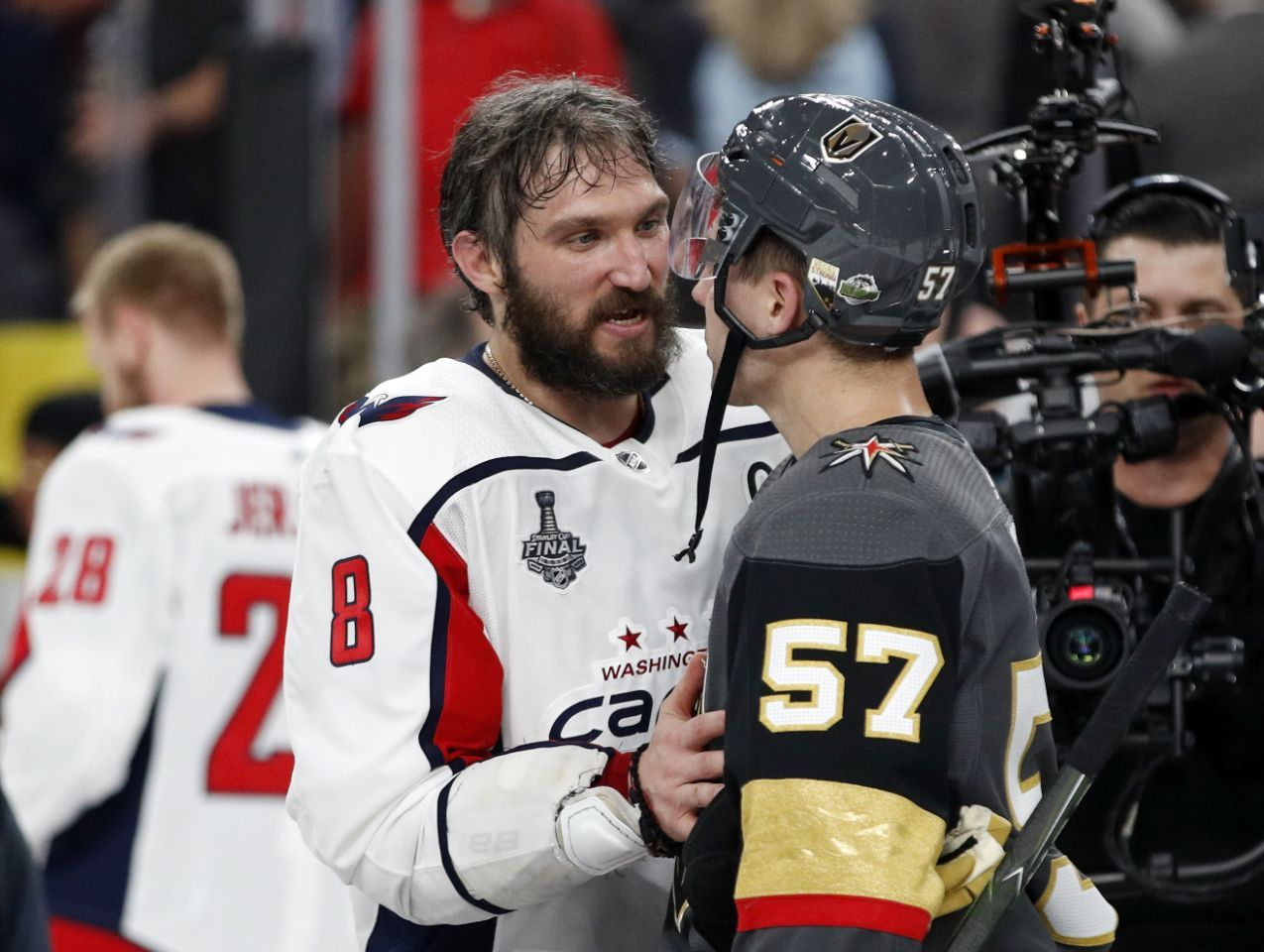 Stanley Cup winner Alex Ovechkin may just be getting