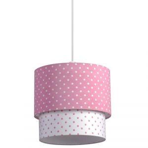 Suspension de plafond blanche et rose Nany: luminaire pour chambre ...