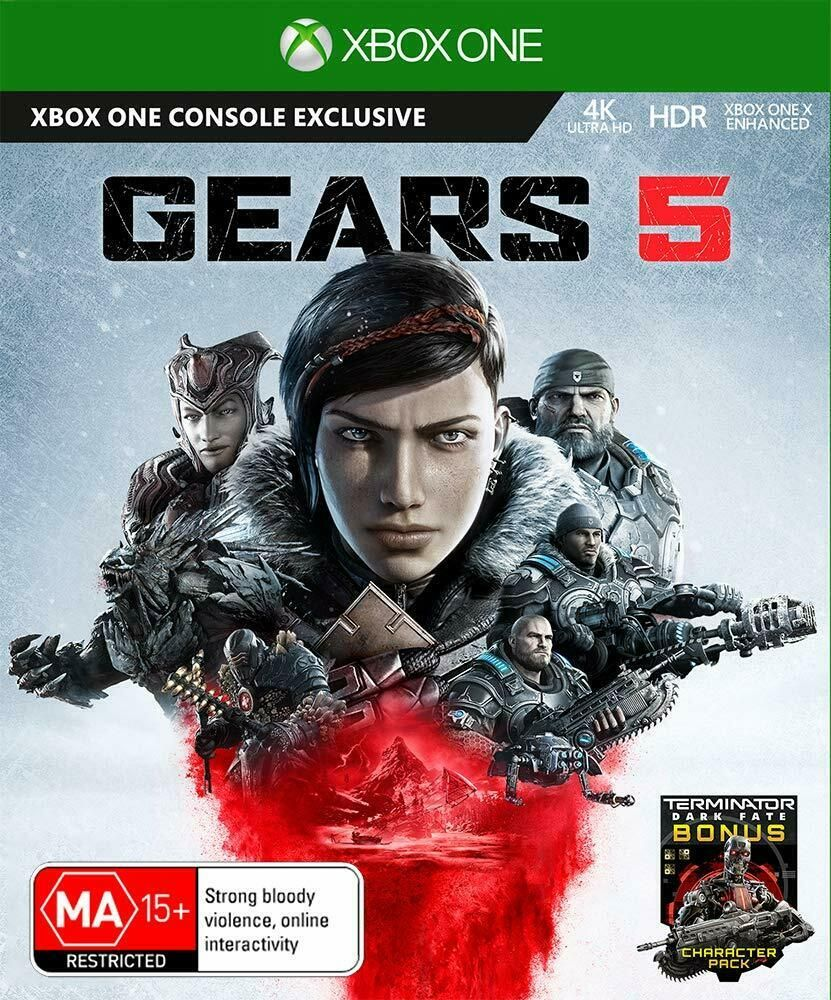 Gears 5 XBox One Role Playing War Shooter Strategy Game