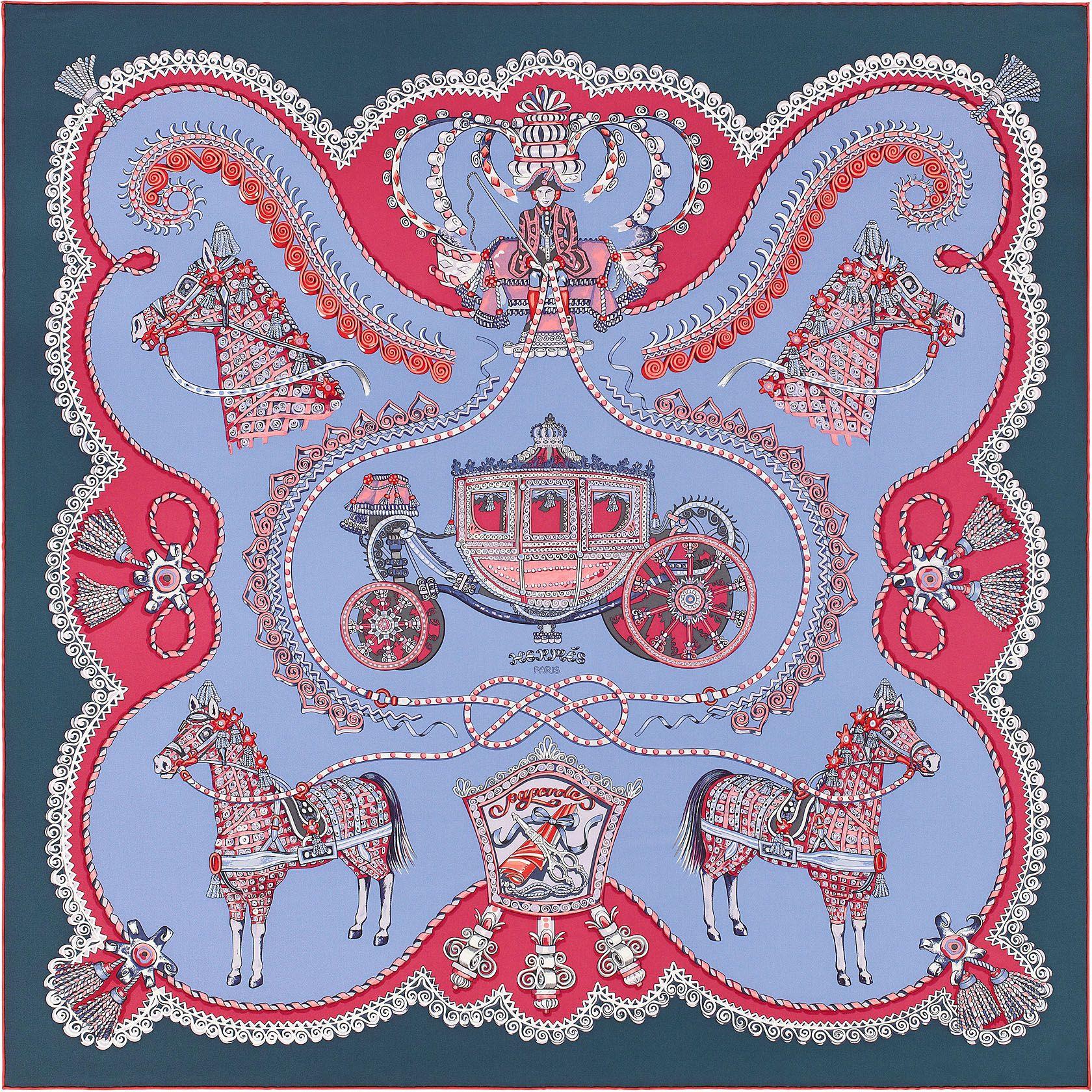 "fec7fbf0222d 36"" x 36"" scarf Hermès   Paperoles   Foulards Hermes   Pinterest ..."