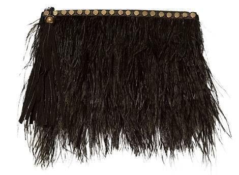 fuerte embalaje proporcionar un montón de zapatos para correr Bolso de fiesta de plumas de Zara … | bolsos | Bolsos de ...