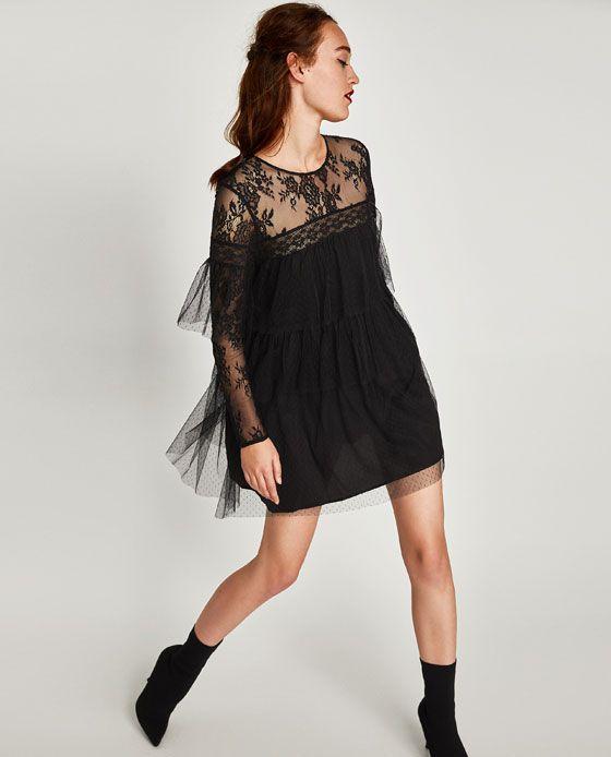 Zara Dan 4 Cicekli Kadife Elbise Resmi Kadife Kadin Elbise