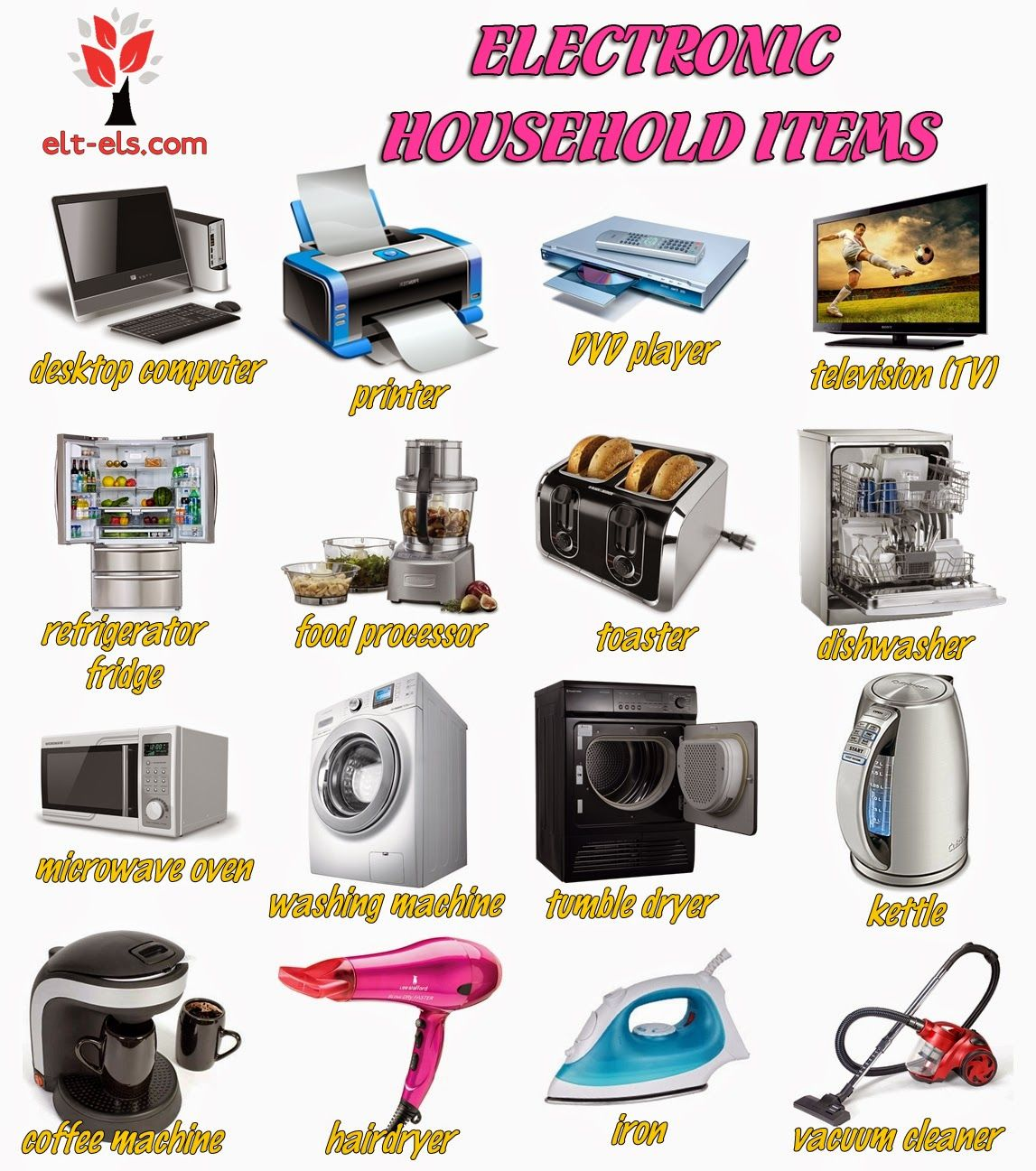 Electronic Household Items